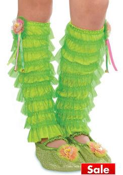 Child Tinker Bell Leg Warmers