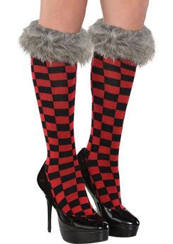 Little Red Riding Hood Knee Socks