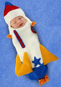 Baby Cocoon Rocket Costume