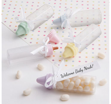 Multicolor Bottle Baby Shower Favor Kit 24ct