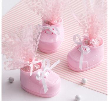 Pink Bootie Baby Shower Favor Kit 12ct