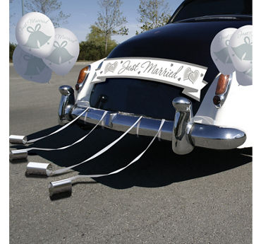 Wedding Car Decorations Party City