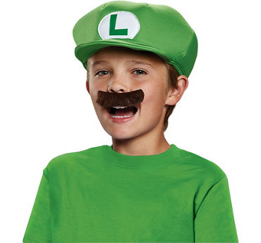 Super Mario Brothers Luigi Accessory Kit