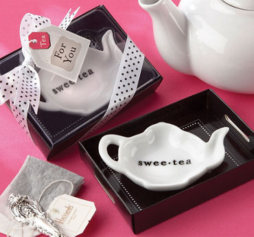 Sweet-Tea Bag Holder & Tray