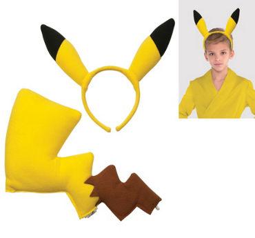 Child Pikachu Costume Kit