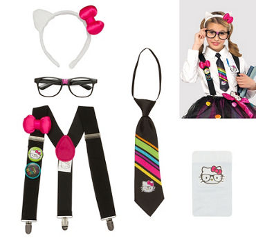 Girls Hello Kitty Nerd Accessory Kit