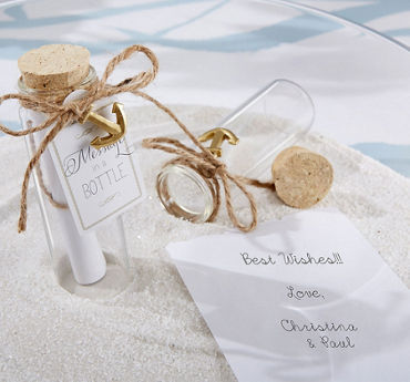 Message in a Bottle Favors