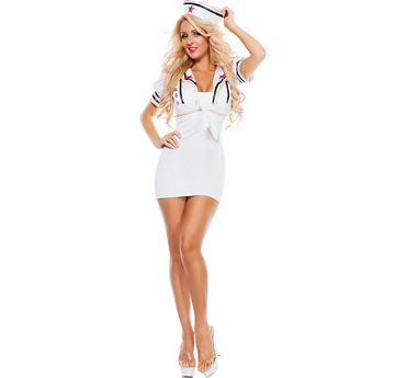 Adult Shore Thing Sailor Costume Accessory Kit 2pc
