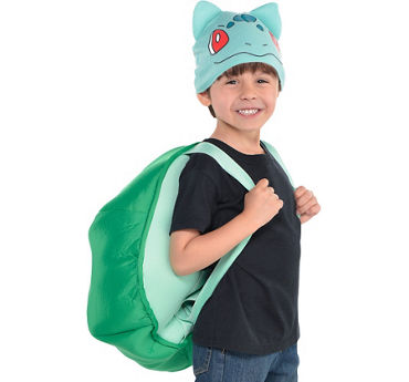 Child Bulbasaur Costume Accessory Kit 2pc - Pokemon