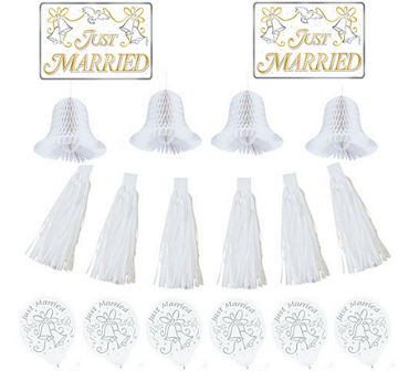 Wedding Car Decorating Kit