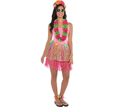 Womens Super Luau Accessories Kit