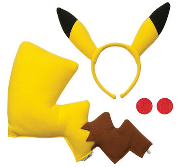 Pikachu Accessory Kit - Pokemon