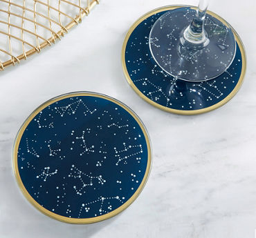 Constellation Glass Coasters