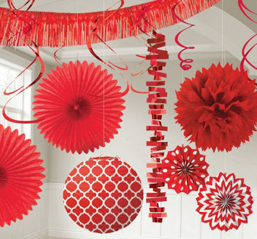 red decorations - Party City Decorations