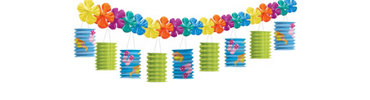 Fun in the Sun Lantern Garland 12ft