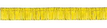 Gold Foil Fringed Garland 20ft