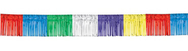 Multicolor Fringed Garland 20ft