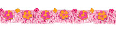Warm Summer Fringe Banner 6ft