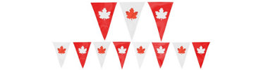 Summer Plastic Outdoor Pennant Banner 120ft