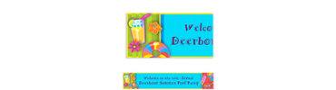 Fun in the Sun Custom Banner 6ft