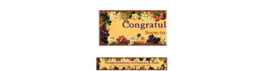 Golden Orchard Custom Banner 6ft