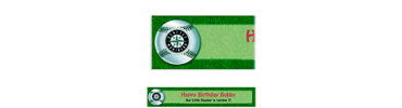 Seattle Mariners Custom Banner 6ft
