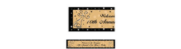 Midnight Toast Custom Banner 6ft