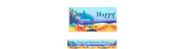 Deep Sea Fun Custom Birthday Banner