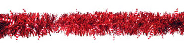 Candy Cane Tinsel Garland