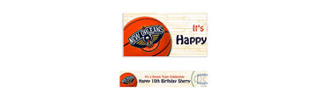 New Orleans Hornets Custom Banner 6ft