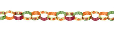 Thanksgiving Chain Link Garland
