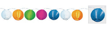 Round Lantern Lights 11ft