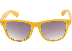 Bright Yellow Sunglasses