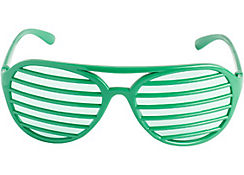 Green Shutter Glasses