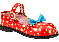 Adult Polka Dot Clown Shoes