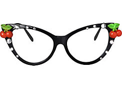 Rockabilly Cat Eye Glasses