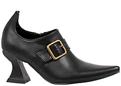 Adult Black Witch Ankle Boots