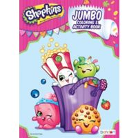 Shopkins Coloring Activity Book