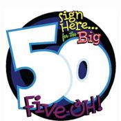 50th Birthday Sign-In Sheet