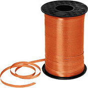 Orange Curling Ribbon 350yds