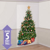 Christmas Tree Scene Setter 65in