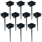 Graduation Cap Party Picks 10ct