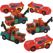 Cars Cake Toppers 6ct