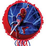 Pull String Spider-Man Pinata 17in