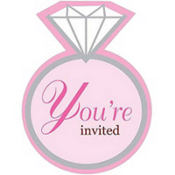 Bride To Be Bridal Shower Invitations 8ct