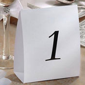 Table Markers-Numbers 1-12