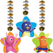 The Backyardigans Dangling Cutouts 3ct