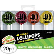 Lollipops 40 Sucks 20ct