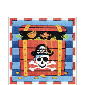 Pirate's Treasure Lunch Napkins 16ct