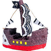 Pirate Ship Pinata 16in